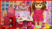 洋娃娃购物精灵化妆台儿童玩具故事