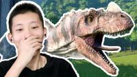 侏罗纪世界进化 建造自己的恐龙公园! 三角龙大战角鼻龙 鲤鱼Ace解说