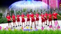 建群村广场舞恰恰《蓝色雨》编舞叶子演示建群姐妹2018年最新广场舞带歌词