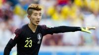 6月18日世界杯球场最花边:发型不乱妆容精致!韩国门将火了