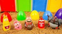 玩具动画 爆笑虫子汽车车库玩具 玩具短片 【 俊和他的玩具们 】
