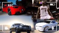 NBA新皇詹姆斯, 听说买车口味很独特? 潜入他的车库瞧瞧去...