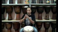 非洲手鼓三个基本音的打法