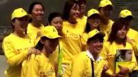 携手抗击艾滋病青少年爱心大使长城上的宣誓