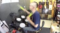凯文先生《都选C》架子鼓演奏爵士鼓演奏