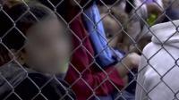 美国非法移民拘留中心曝光 如同集中营 隔热纸做被子