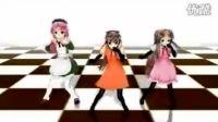 【MikuMikuDance】チョコレイト・ディスコ【白鐘姉妹桃音モモ】