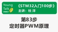 STM32入门100步(第83步)定时器PWM原理