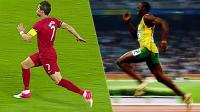 世界杯嘿未够6: C罗冲刺速度快过博尔特 英格兰勇夺世界杯神作 #玩转世界杯#