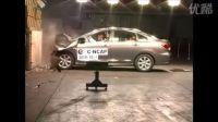 日产轩逸 C-NCAP碰撞测试现场