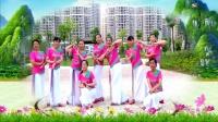 建群村广场舞形体舞《种花》编舞梅子演示建群姐妹2018年最新广场舞带歌词