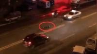男子卧倒路中被碾致死: 事发前有人放警示标识