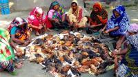 印度大户人家过节, 100只鸡看看他们是怎么吃法, 毁三观了