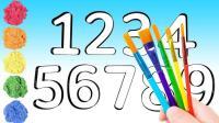 玩转《神奇数字1-9》数学启蒙认识颜色, 激发宝宝学习的主动性!