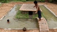 在地下庇护所四周建个游泳池, 网友: 这设计真是脑洞大开