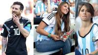 世界杯嘿未够7: 梅西妻子赴俄助阵球王 裁判中场找C罗要球衣 #玩转世界杯#