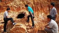 工人修楼发现黑洞, 专家赶来发现清朝古墓, 考古队长: 这是我祖坟