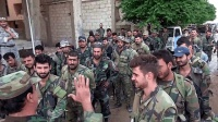 叙利亚军多支精锐部队完成集结, 向敌方阵地发起冲锋