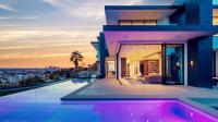 【奢华豪宅】美国洛杉矶日落大道现代豪华别墅