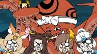 王者荣耀搞笑小动画: 四大舞姬大战巨兽石距