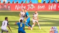 世界杯E组小组赛第二轮,巴西队2-0哥斯达黎加队惊险获胜