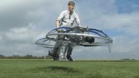 自制喷气式卡丁车的小伙又来了, 这次小伙自制飞行器, 太厉害了!