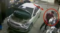 汽修工正在修车, 如果没有监控, 老板都不会他相信的经历