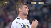 【进攻】第一次世界杯还是稚嫩 维尔纳接应穆勒传中无人看守将球打飞