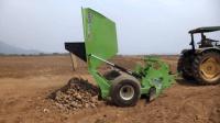 再也不怕农田石块损坏农机, 专收石块的岩石割晒机, 你们那有吗?