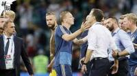 德国挑衅庆祝 同瑞典赛后冲突