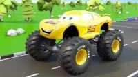 挖掘机视频表演大全31 工程车 推土机 挖土机玩具视频 汽车总动员