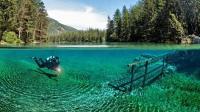 世界上最任性公园: 一年有9个月沉在湖底!