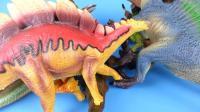恐龙玩具集合 恐龙玩具游戏 恐龙总动员