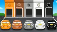 育儿益智早教英语动画  汽车出库入库    认识颜色车辆    学习英语