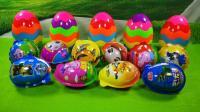 小猪佩奇猪猪侠奇趣蛋七彩蛋里的拼装萌宠滑板车小汽车玩具分享