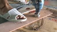 装修请的贴瓷砖师傅, 竟然用起了高科技