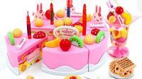 小猪佩奇和汪汪队在米奇妙妙屋切蛋糕玩具