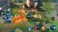 宗龙龙游戏解说王者荣耀: 亚瑟在此, 队友在坑也可以赢得比赛!
