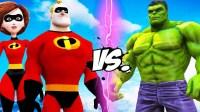 令人难以置信的绿巨人 VS 超人总动员