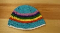 「母婴针织」教你钩织小宝宝的彩虹帽子