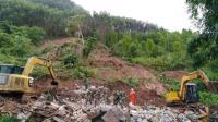 广西百色: 山体滑坡楼房被埋  一家6口确认遇难
