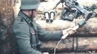 神配合! 一个德军机枪手搭配一个狙击手灭了整支苏军部队, 憋尿也要看完