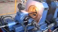 托辊双端自动车孔工艺流程-湖州天和机械