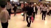 BigBang在台创外国艺人No.1 1200人挤爆机场 120410
