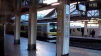 日本东京 地铁电车E233系 中央线 新宿 高清HD视频