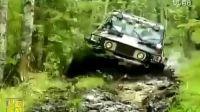疯狂越野:俄罗斯沼泽越野 难度很高 一般人玩不转