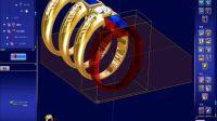 3design最好的珠宝设计软件!参数树戒指!