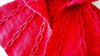 第12集  宝宝斗篷钩针编织零基础视频教程---甜甜快乐编织