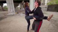 【安全防卫网】猛男对猛女打架