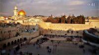 延时摄影耶路撒冷的天空